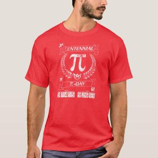 あなたの百年間Pi日のギアを得て下さい: 3/14/15 9:26: 53 Tシャツ