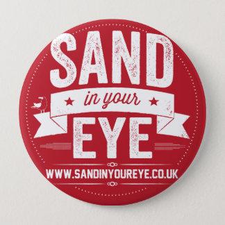 あなたの目のロゴのバッジの砂 缶バッジ