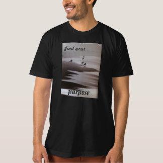 あなたの目的を見つけて下さい Tシャツ