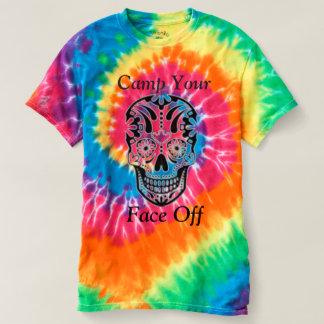 あなたの直面しますキャンプして下さい! Tシャツ