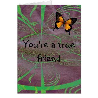 あなたの真の友達 カード