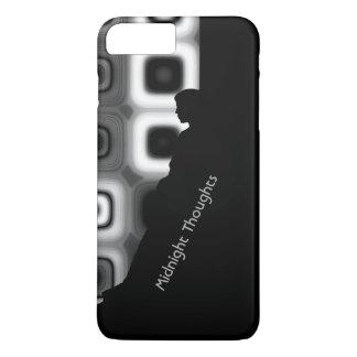 あなたの真夜中の思考を個人化して下さい iPhone 7 PLUSケース