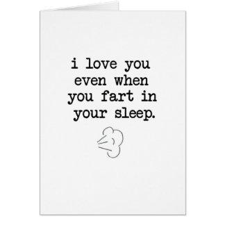 あなたの睡眠の屁 カード