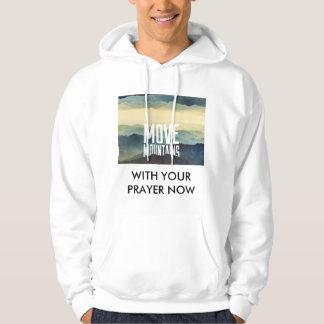 あなたの祈りの言葉が付いている山を今動かして下さい パーカ