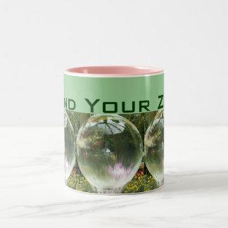 あなたの禅のマグを見つけて下さい ツートーンマグカップ