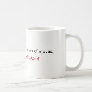あなたの移動をして下さい コーヒーマグカップ