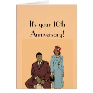 あなたの第10記念日 カード