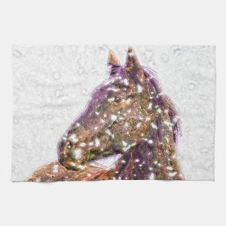あなたの美しい馬の台所タオルの下 キッチンタオル