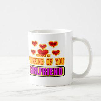 あなたの考えることガールフレンド コーヒーマグカップ