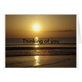 あなたの考えることメッセージカード カード