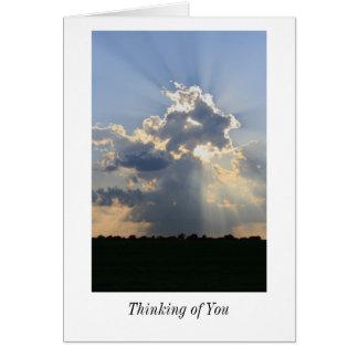 あなたの考えること空白のなカード カード