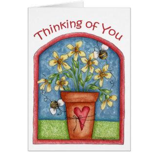 あなたの考えること-メッセージカード カード