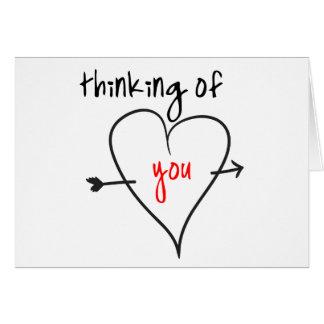あなたの考えること(愛と) カード