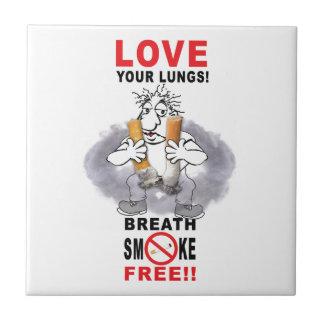 あなたの肺-停止喫煙--を愛して下さい タイル