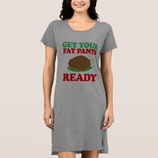 あなたの脂肪質のズボンを準備ができた得て下さい -- 休日のユーモア- .png ドレス