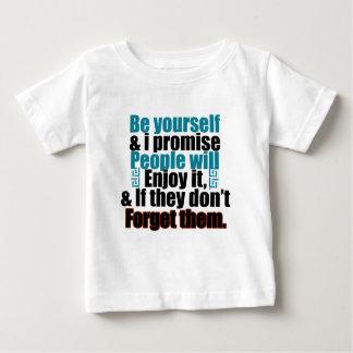 あなたの自己があって下さい ベビーTシャツ