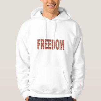 あなたの自由を大事にして下さい: 天恵n責任 パーカ