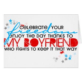 あなたの自由を祝って下さい カード