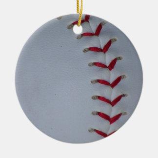 あなたの色の野球-ソフトボール--を選んで下さい セラミックオーナメント