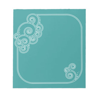 あなたの色の魅了の渦巻のメモ帳を選んで下さい ノートパッド