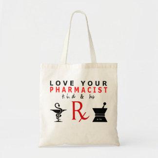 あなたの薬剤師の戦闘状況表示板を愛して下さい トートバッグ