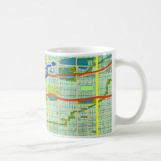 あなたの行先のコーヒー・マグに達しました コーヒーマグカップ