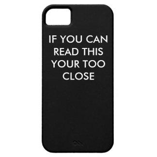 あなたの読書このあなたの余りに近い電話箱 iPhone SE/5/5s ケース