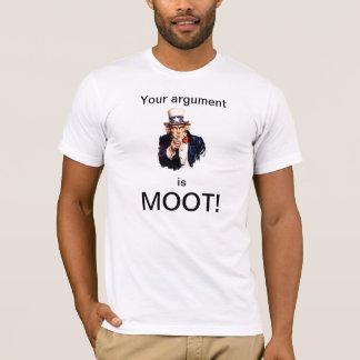 あなたの議論は未決です Tシャツ
