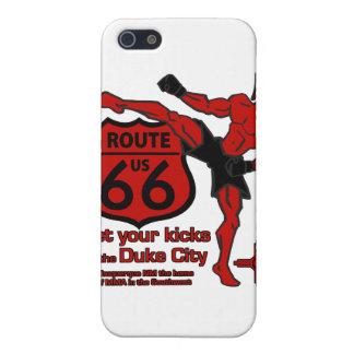 あなたの蹴りにCity公爵赤を得て下さい iPhone 5 ケース