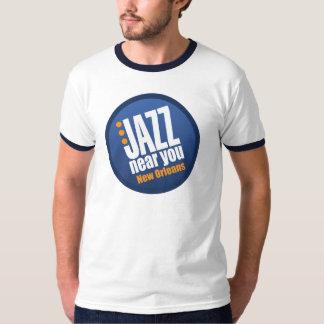 あなたの近くのジャズニュー・オーリンズのヴィンテージの信号器 Tシャツ
