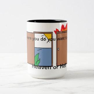 あなたの選択 ツートーンマグカップ