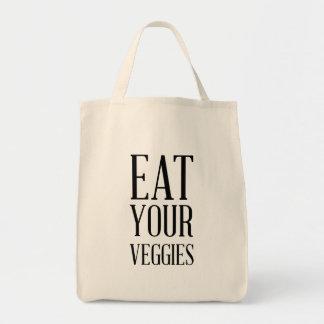 あなたの野菜を食べて下さい トートバッグ
