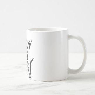 あなたの限界を押して下さい コーヒーマグカップ