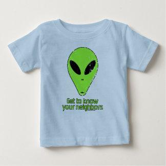 あなたの隣人を知って下さい ベビーTシャツ
