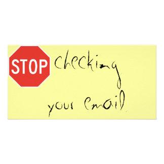 あなたの電子メールを点検することを止めて下さい カード