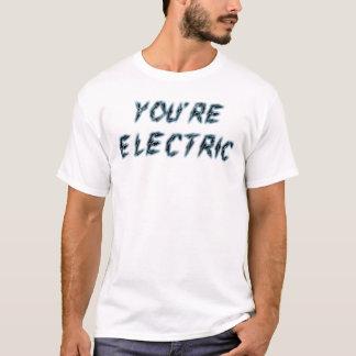 あなたの電気タイポグラフィのTシャツ Tシャツ