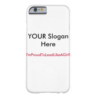 あなたの電話が付いている鉛! BARELY THERE iPhone 6 ケース