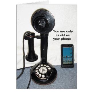 あなたの電話古いですただ カード