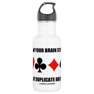 あなたの頭脳の強い演劇の複写橋を育てて下さい ウォーターボトル