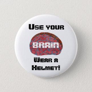 あなたの頭脳を使用して下さい 缶バッジ