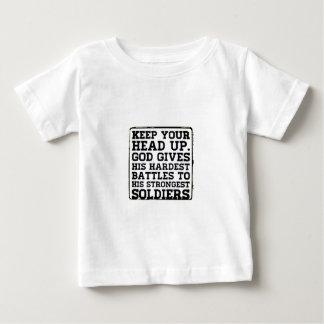 あなたの頭部を保って下さい ベビーTシャツ