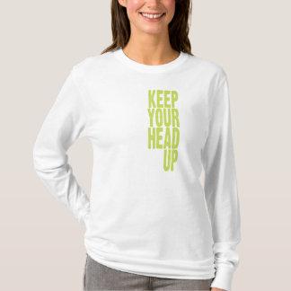 あなたの頭部を保って下さい(柑橘類) Tシャツ