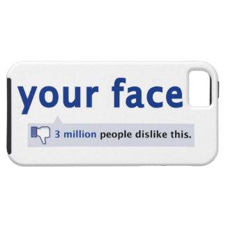 あなたの顔のiPhone 5の場合 iPhone SE/5/5s ケース