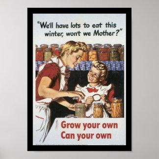 あなたの食糧世界大戦2を育てて下さい ポスター