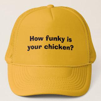 あなたの鶏はいかにファンキーですか。 キャップ
