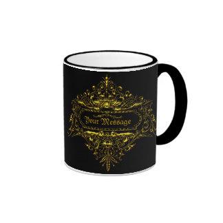 あなたの|メッセージ|Emblem2A|マグ コーヒーマグカップ