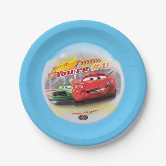 あなたの#1車の紙皿 ペーパープレート