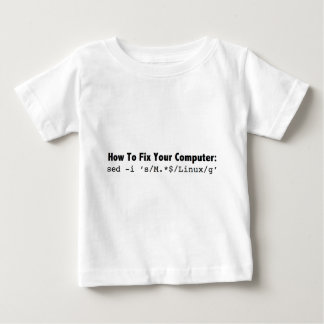 あなたのComputer_black.pngを固定する方法 ベビーTシャツ
