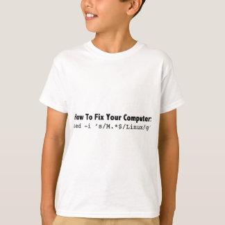 あなたのComputer_black.pngを固定する方法 Tシャツ
