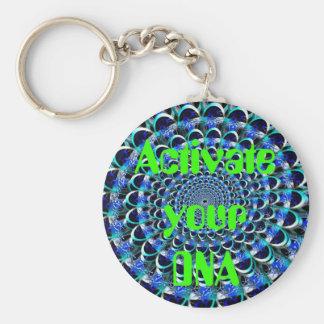 あなたのDNAのkeychainを活動化させて下さい キーホルダー